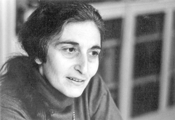 "Photo of author Ruth Prawer Jhabvala for obit. She is the author of 1975 novel ""Heat and Dust."""