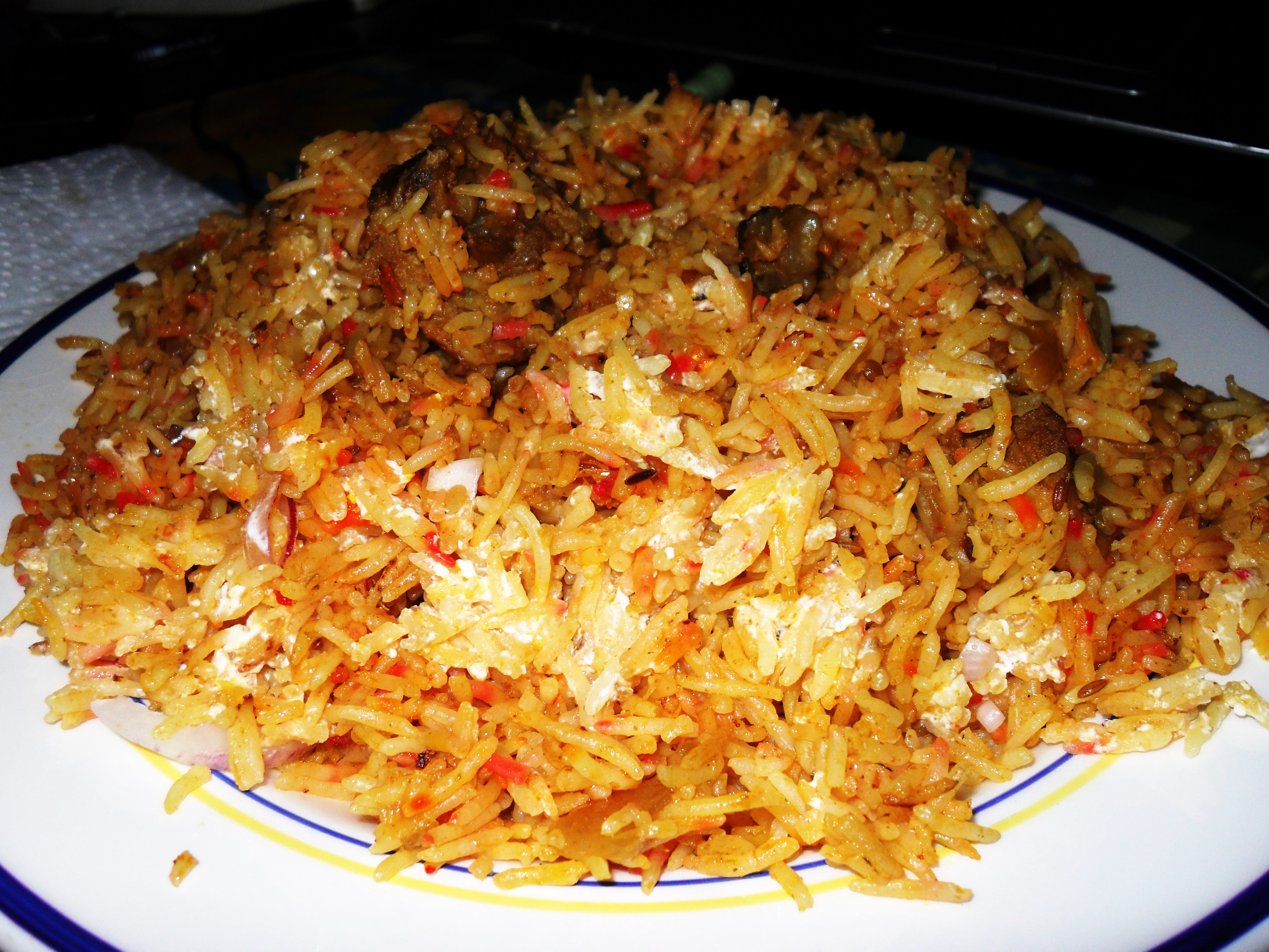 Recipe lamb biryani jews of india indian jews jews in india recipe lamb biryani forumfinder Image collections